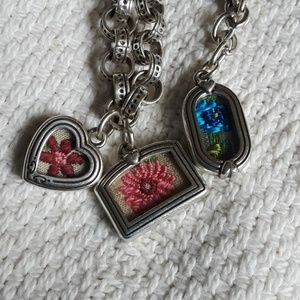 Brighton Flower Frames necklace